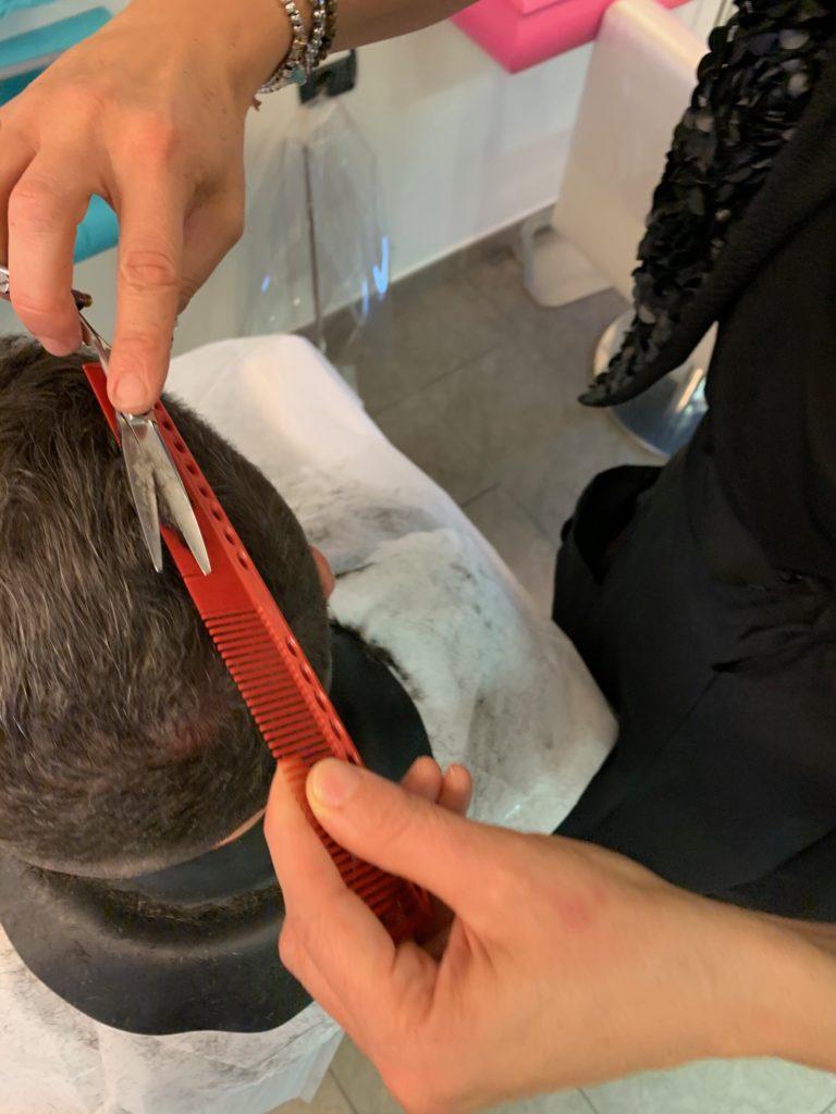 Parrucchiere Uomo Taglio di Po | Inspiration Atelier Ricci e Capricci